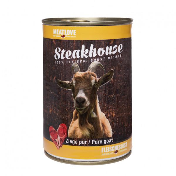 Fleischeslust Meatlove Steakhouse 100% Ziege pur