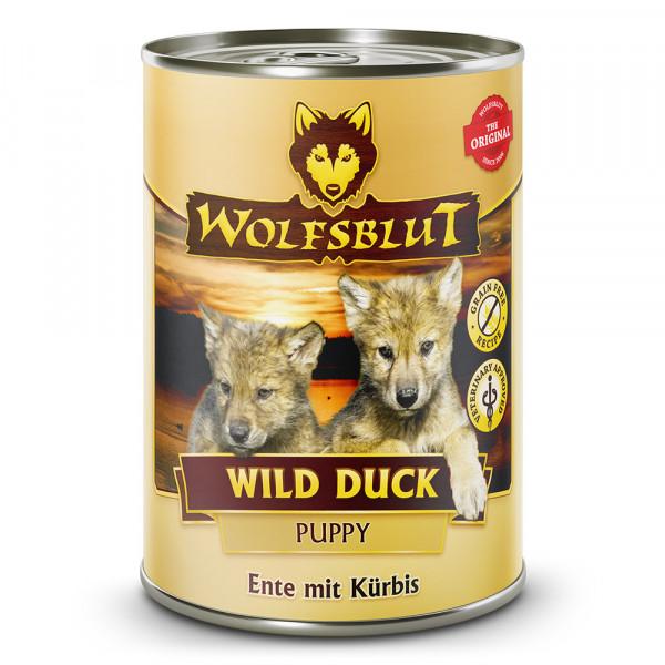 Wolfsblut Nassfutter Wild Duck Puppy 395g