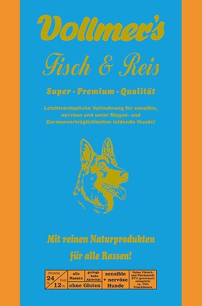 Vollmers Fisch & Reis 15kg