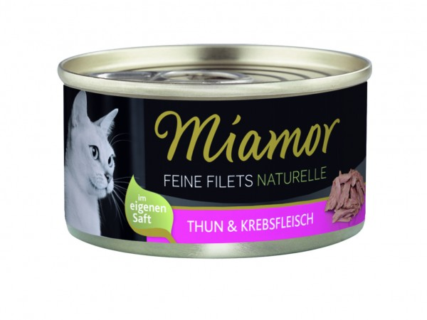 Miamor Feine Filets Naturelle Thunfisch & Krebs 80g