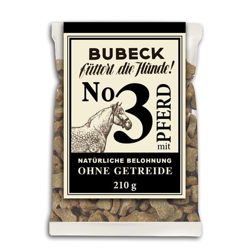Bubeck getreidefreie Belohung Nr. 3 mit Pferd 210g