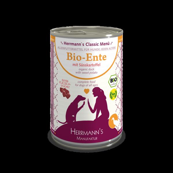 Herrmanns Classic Bio Ente Menü