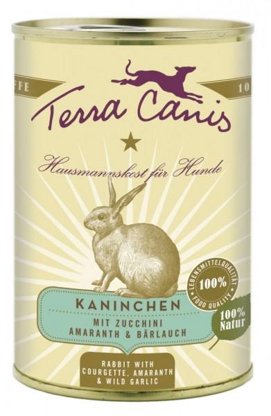 Terra Canis Kaninchen mit Zucchini, Amaranth & Bärlauch