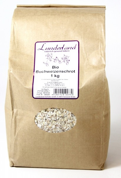 Lunderland Bio Buchweizenschrot 1kg