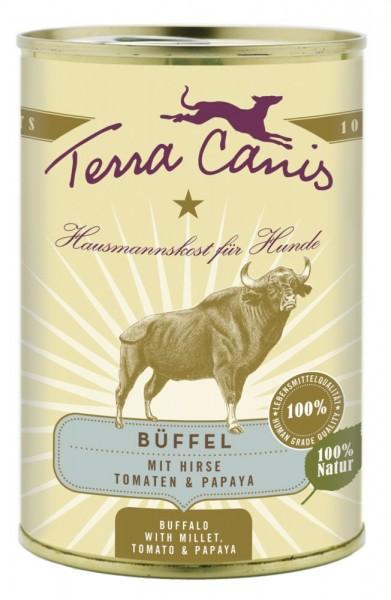 Terra Canis Büffel mit Hirse, Tomaten & Papaya