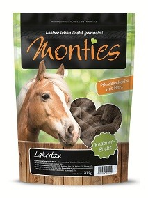 Monties Pferde Snack - Lakritze Sticks 700g