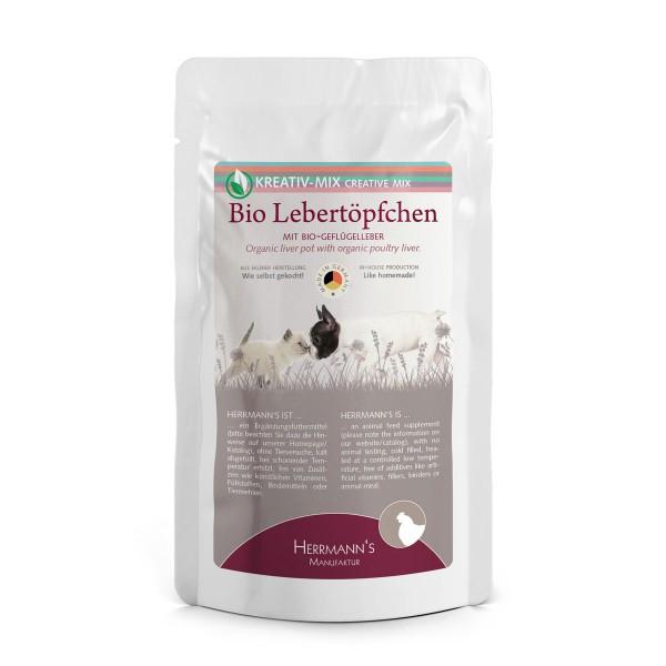 Herrmanns Kreativ Mix Bio Lebertöpfchen 100g