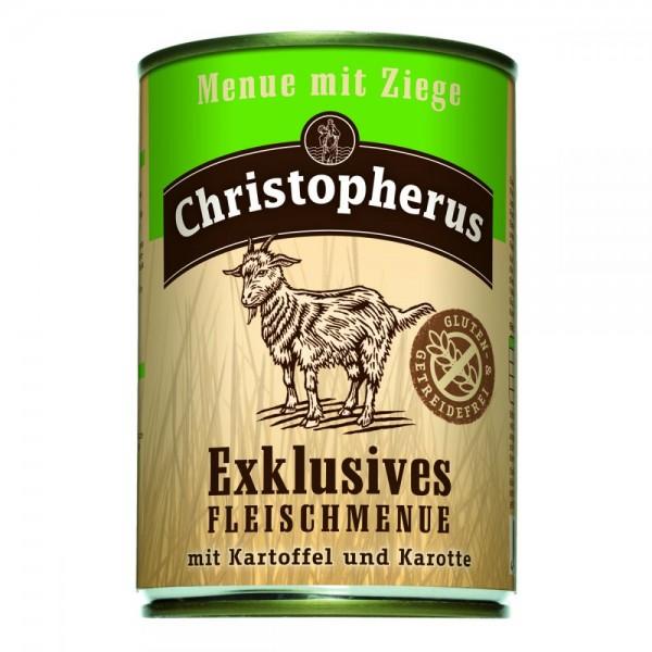 Christopherus Menü mit Ziege