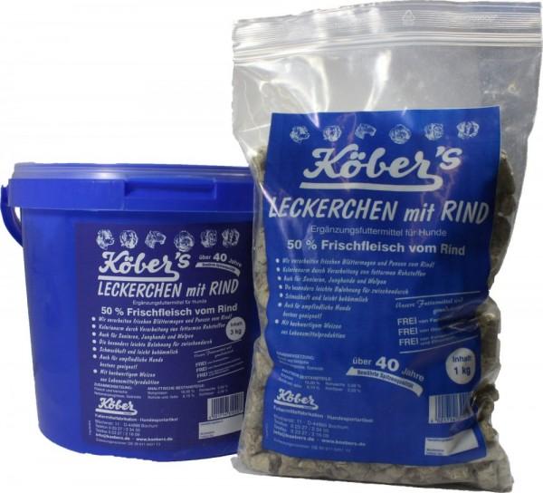 Köbers Leckerchen mit Rind