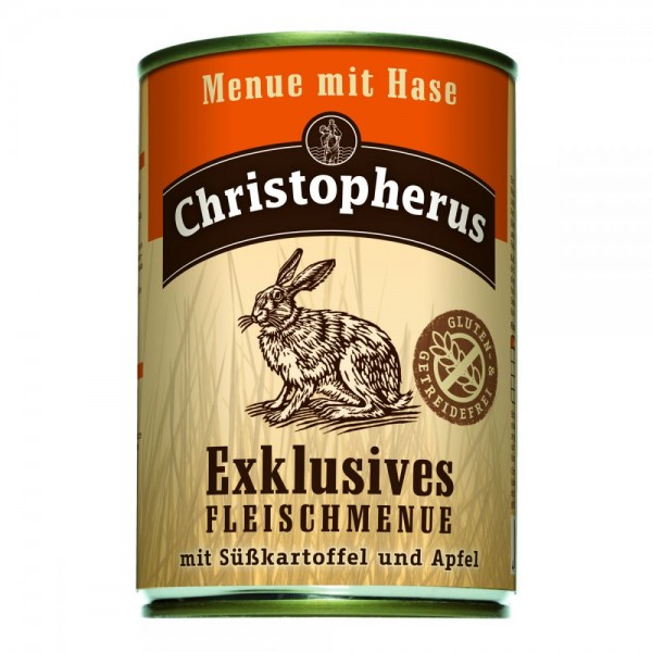 Christopherus Menü mit Hase