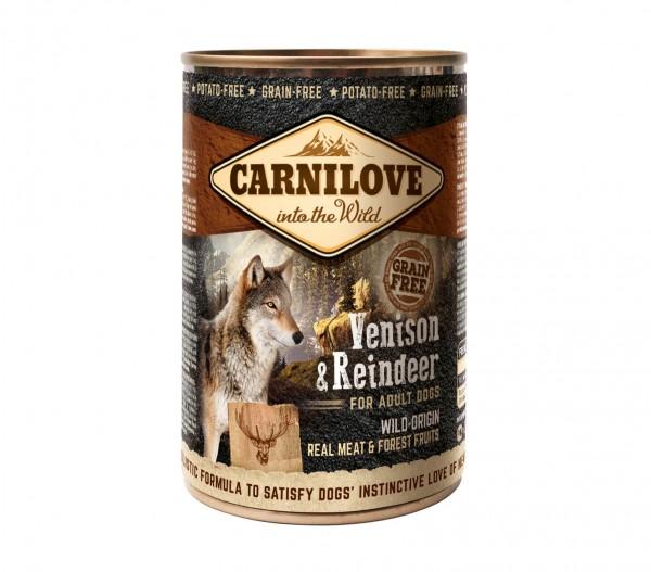Carnilove Adult Venison & Reindeer 400g Dose