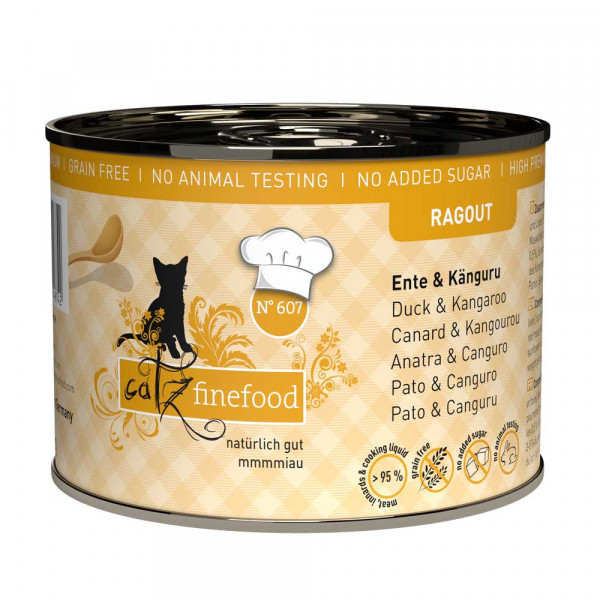 catz finefood Ragout N° 607 Ente & Känguru 190g