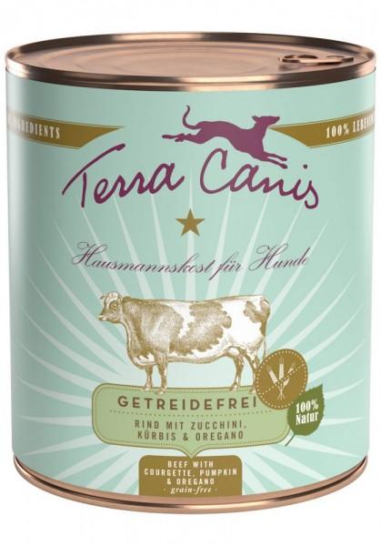 Terra Canis Sensitiv Rind mit Zucchini, Kürbis & Oregano